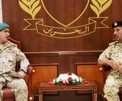 Bahrain Defense Chief Receives Peninsula Shield Force Commander