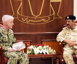 Bahrain Defense Chief Receives US 5th Fleet Commander