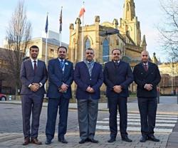 Bahrain MoI Delegation Visits University of Huddersfield