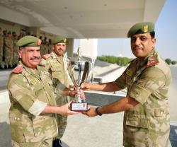 Bahrain National Guard Director Patronizes Officers' Graduation