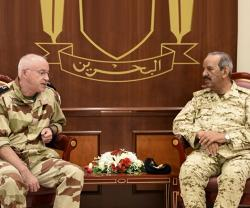 Bahrain Receives US, French Military Officials
