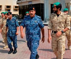 Bahrain Royal Guard Chief Visits Naval Force Headquarters
