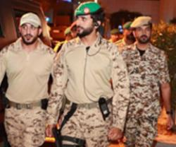Bahrain Royal Guard Commander Attends Guard 1 Drill