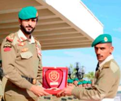 Bahrain Royal Guard Commander Patronizes Military Graduation