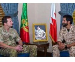 Bahrain Royal Guard Commander Receives Sandhurst Commandant