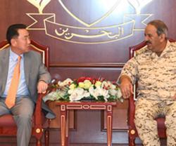 Bahrain's Defense Chief Receives South Korean Delegation