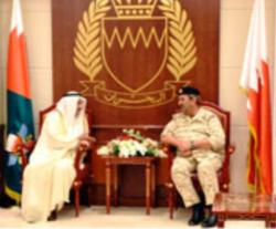 Bahrain's Commander-in-Chief Receives Kuwaiti Ambassador