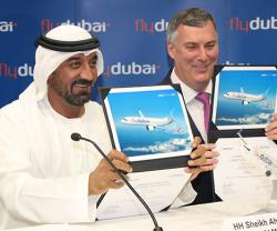 Boeing, flydubai Sign Historic Deal for 225 737 MAX Airplanes