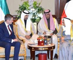 British Defense Secretary Visits Kuwait