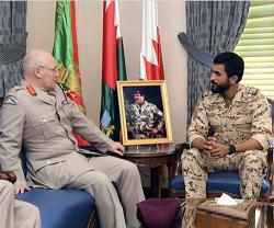 British Senior Defense Advisor to Middle East Visits Bahrain