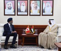 Canadian Minister of National Defense Visits UAE