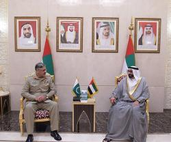 Chairman Joint Chiefs-of-Staff of Pakistan Army Visits UAE