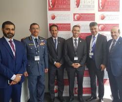 Chairman of Bahrain International Air Show Attends Paris Air Show