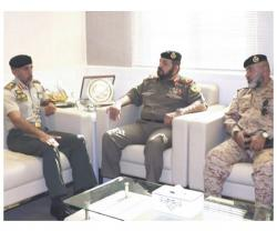 Chairman of Kuwait's National Military Service Visits UAE