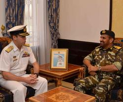 Chief of Royal Australian Navy Visits Oman