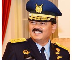 Chief-of-Staff of Indonesian Armed Forces Visits UAE