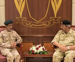 Chief-of-Staff of UAE Armed Forces Visits Bahrain