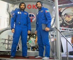 Crown Prince of Dubai Praises UAE's Two Astronauts