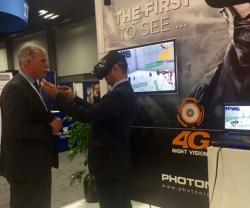 PHOTONIS Demos 4G Night Vision at AUSA