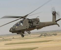 Lockheed Martin to Upgrade Apache Helicopters' Sensor