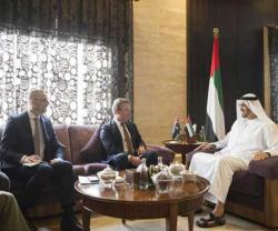Abu Dhabi Crown Prince Meets Australian Defense Minister