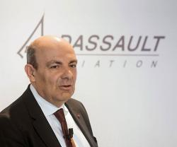 Dassault Aviation Renews Chairmanship of Eric Trappier