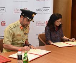 Dubai Police, TECOM to Launch 3 Smart Police Stations