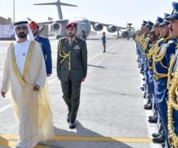 Dubai Ruler Attends Khalifa Air College Graduation