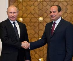 Egypt, Russia to Discuss Military-Technical Cooperation