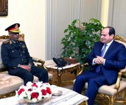 Egypt, Sudan Discuss Boosting Military Cooperation