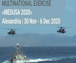 Egypt, UAE, France, Greece, Cyprus Start MEDUSA 2020 Exercise