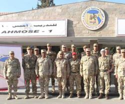 Egypt, UK Continue 'Ahmose-1' Military Drill