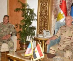 Egypt's Chief-of-Staff Receives US CENTCOM Commander