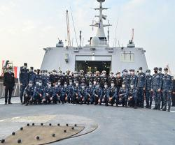 Egyptian Navy Receives First Locally Made Gowind-Class Corvette