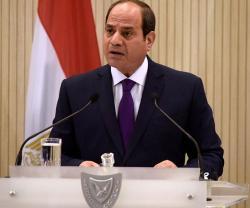Egyptian President Receives Greek Defense Minister; Visits France