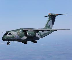 Embraer's Multi-Mission Airlift KC-390 at Paris Air Show