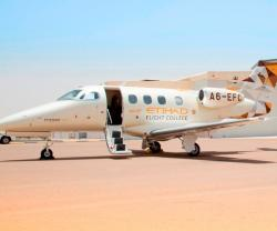 Etihad Flight College Receives First Embraer Phenom 100E Aircraft