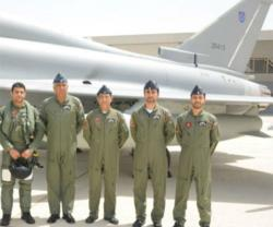 Royal Air Force of Oman Receives First Eurofighter Typhoon