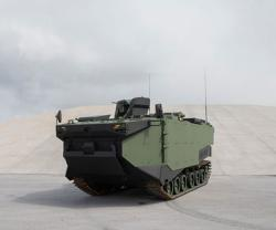 FNSS Unveils First Prototype Marine Assault Vehicle (MAV)