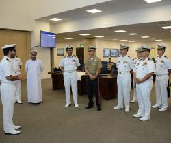 Filipino Navy Delegation Visits Oman's Maritime Security Center