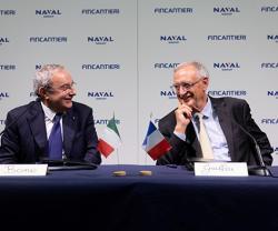 Fincantieri, Naval Group Sign Joint Venture Agreement