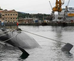 "Fincantieri Delivers ""Romeo Romei"" Sub to Italian Navy"