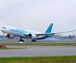 First A330neo Completes Maiden Flight