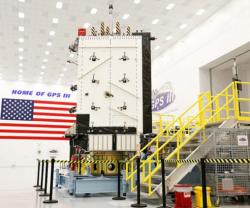 Harris Delivers Navigation Payload for 3rd LM GPS III Satellite