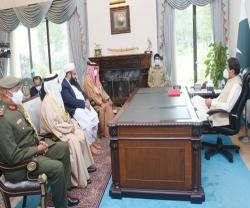 Head of Bahrain's National Guard Visits Pakistan on National Day