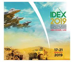 IDEX & NAVDEX 2019 Secure 95% Space Booking