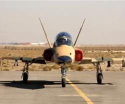 Iran Unveils New Supersonic Training, Combat Fighter Jet