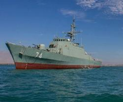 Iran Launches its Most Advanced Destroyer