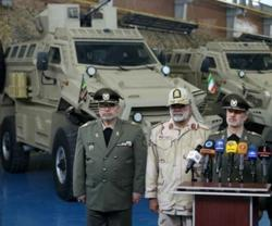 Iran Unveils New 4x4 MRAP Personnel Carrier