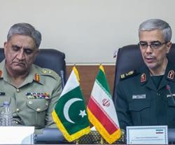 Iranian Chief-of-Staff Receives Pakistani Counterpart